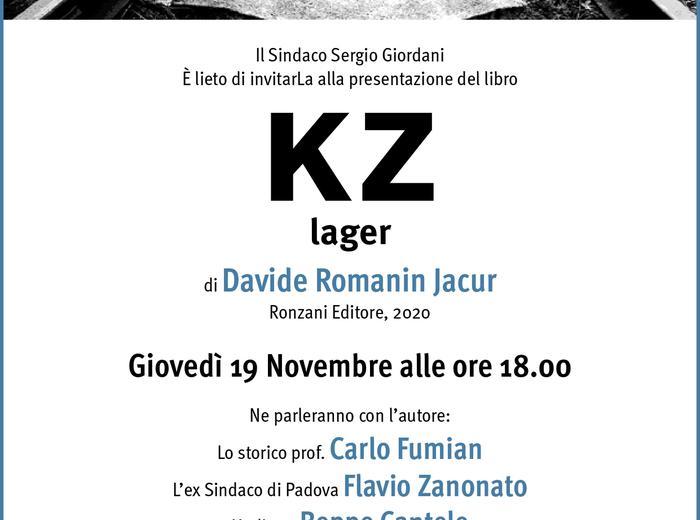 """In diretta da Palazzo Moroni """"KZ lager"""", di Davide Romanin Jacur"""