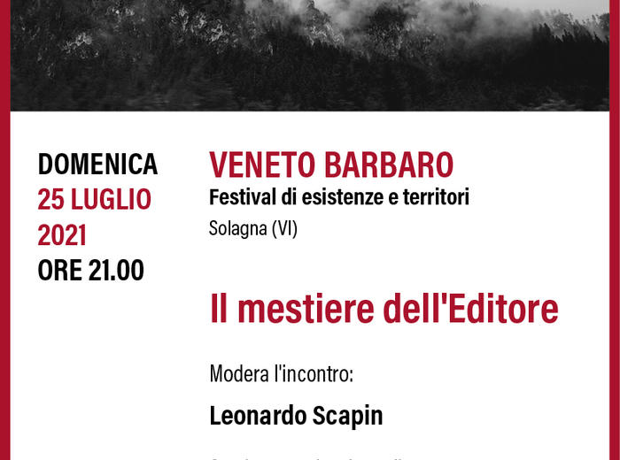#VenetoBarbaro: Il mestiere dell'editore