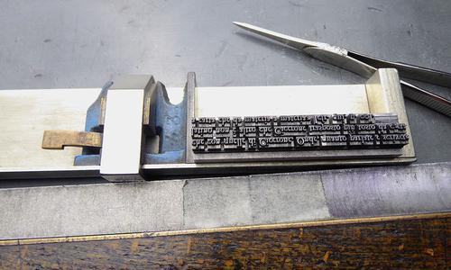 L'Editore Tallone inaugura il più grande portale per immagini dedicato al segno tipografico e alla parola scritta da Gutenberg ai post-moderni