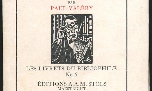 Paul Valéry, Notes sur le livre et le manuscrit, Maestricht, Stols, 1926.