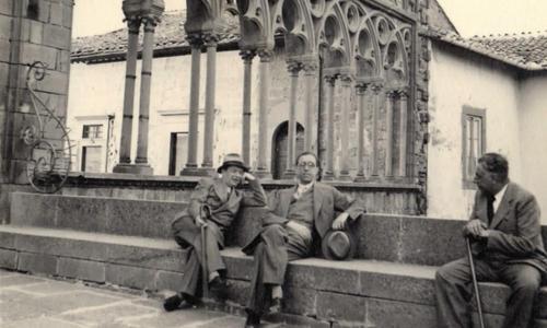 Pietro Pancrazi, Piero Calamandrei e Luigi Russo a Viterbo, 11 giugno 1939