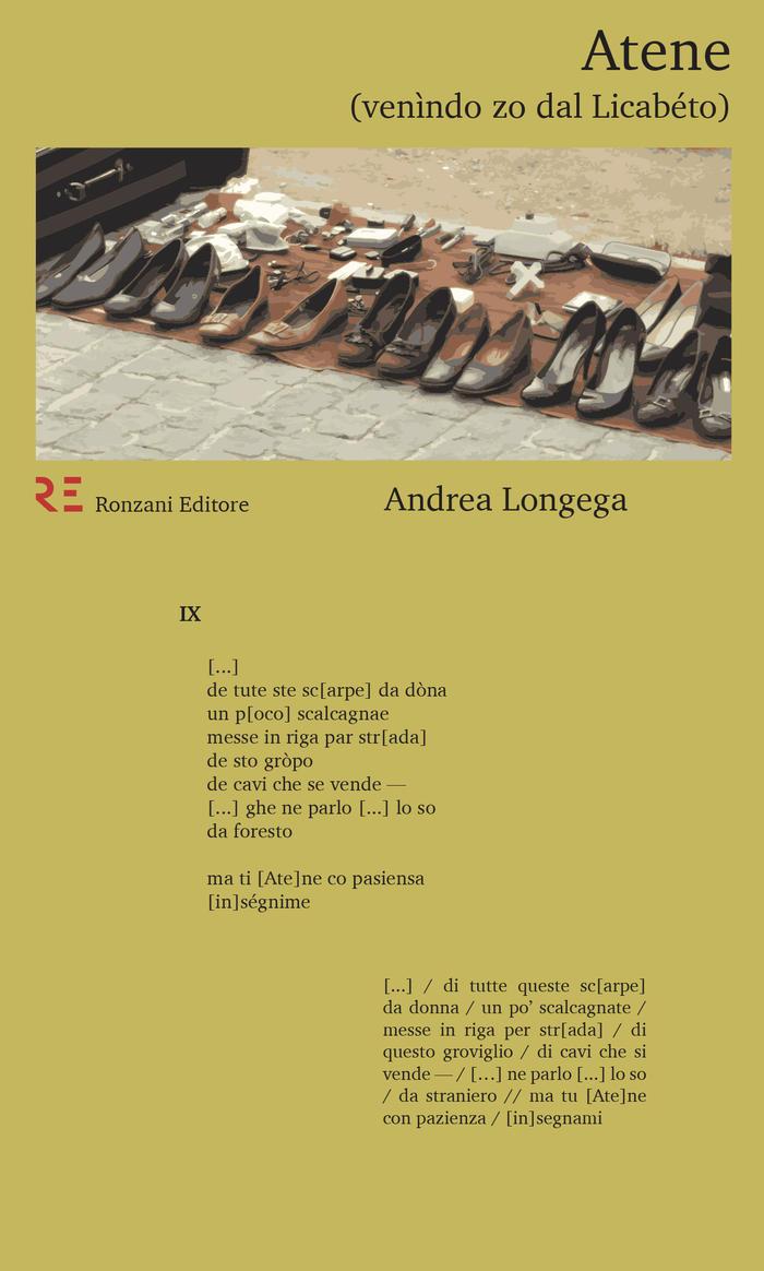 """""""Atene (Venìndo zo dal Licabéto)"""", mistero e fascino nella poesia di Andrea Longega"""