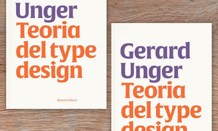 Teoria del type design: il saggio-testamento di Gerard Unger