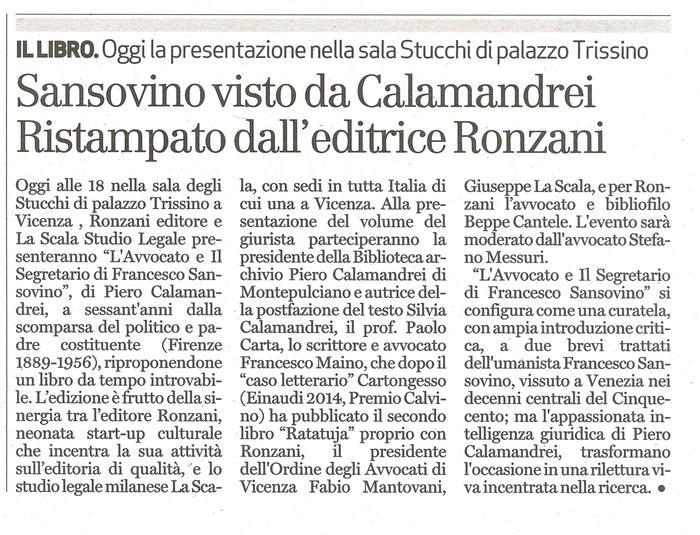 Calamandrei - Sansovino