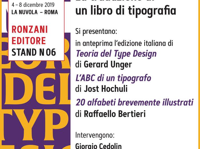 Più libri più liberi: Tradurre è tradire? La traduzione di un libro di tipografia