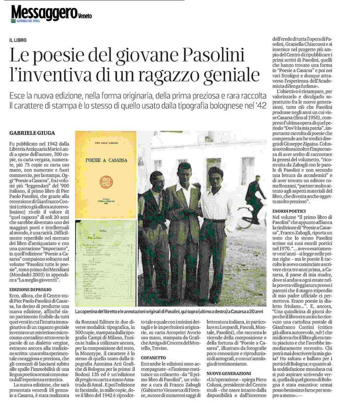 Le poesie del giovane Pasolini, l'inventiva di un ragazzo geniale