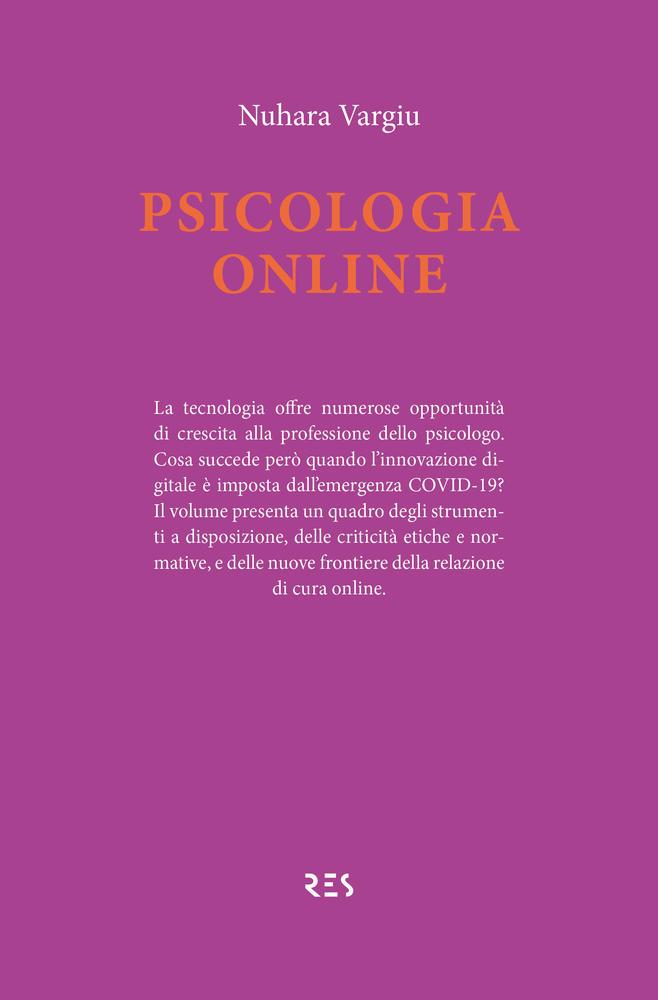 """Il giovedì dell'editore - """"Psicologia online"""", Nuhara Vargiu"""