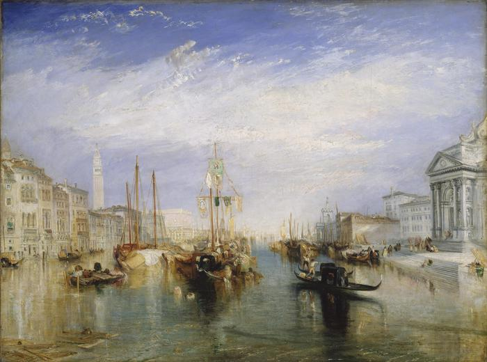 William Turner, The Grand Canal, Venice, 1835