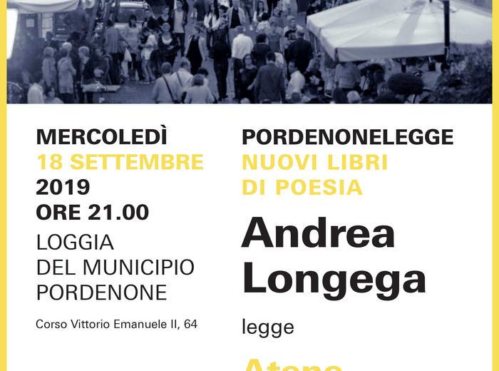 """A Pordenonelegge - Festa del libro con gli autori, Andrea Longega presenta """"Atene (venìndo zo dal Licabéto)"""