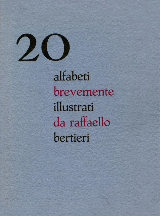 20 alfabeti brevemente illustrati