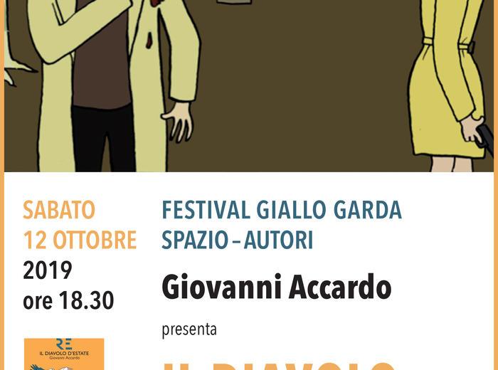"""Al Festival Giallo Garda Giovanni Accardo presenta """"Il diavolo d'estate"""""""
