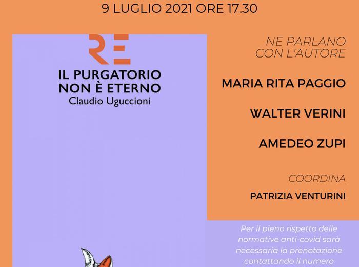 """Claudio Uguccioni presenta il suo ultimo romanzo """"Il purgatorio non è eterno"""" a Città di Castello"""