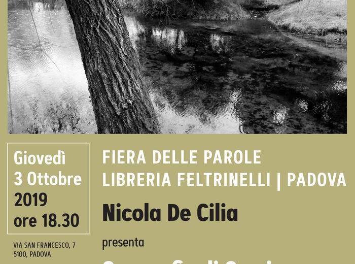 """Alla libreria Feltrinelli di Padova Nicola De Cilia presenta """"Geografie di Comisso. Cronaca di un viaggio letterio"""""""
