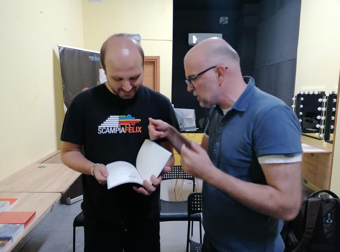 Il giovedì dell'editore - Rosario Esposito La Rossa ospite di Ronzani Editore