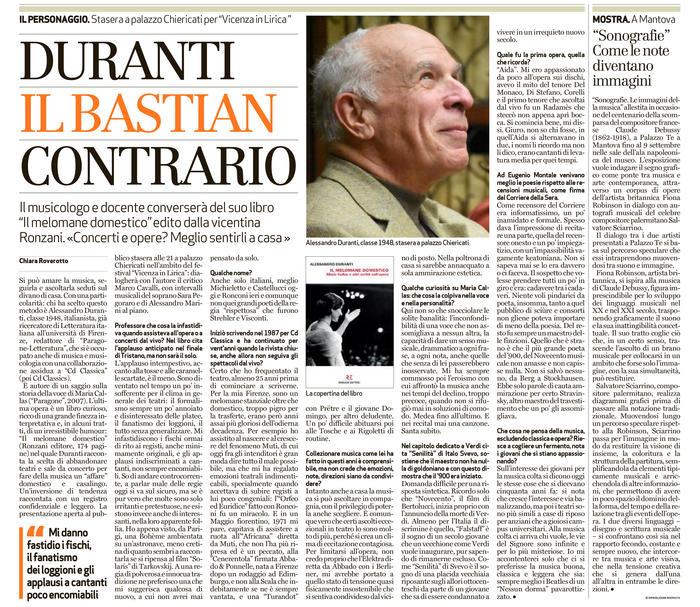 Alessandro Duranti presenta