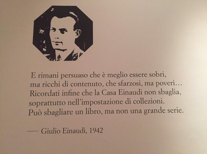 I libri Einaudi