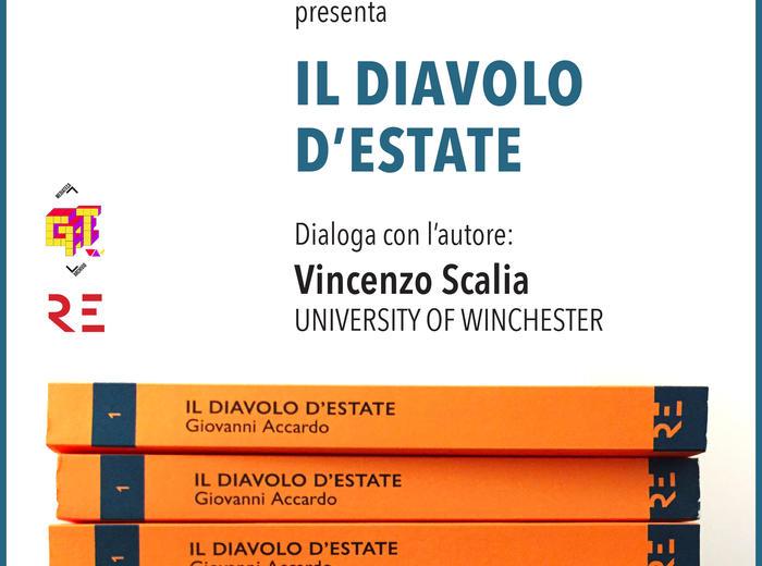 """Alla Libreria Mediateca Gateway di Bologna Giovanni Accardo presenta """"Il Diavolo d'estate"""""""