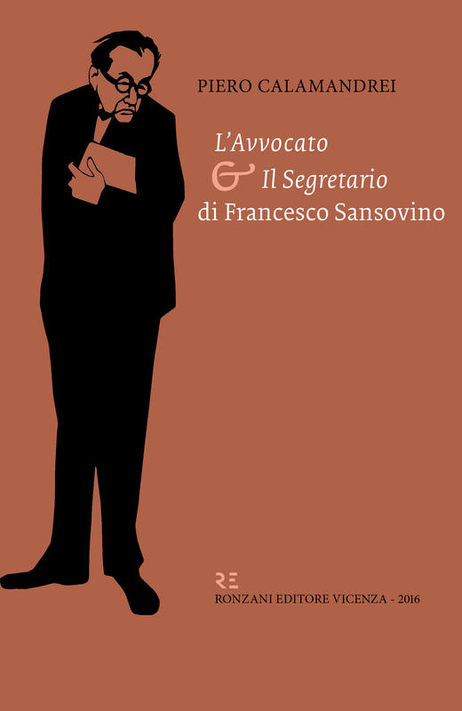 Calamandrei - Sansovino (immagine della sovraccoperta del libro)