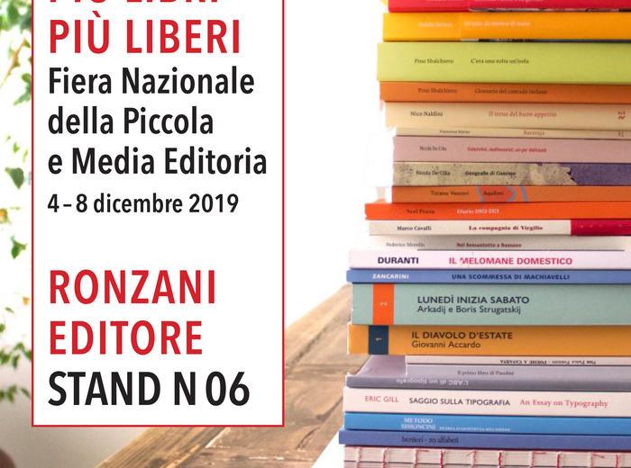 Più libri più liberi: la Fiera Internazionale della Piccola e Media Editoria di Roma, 2019