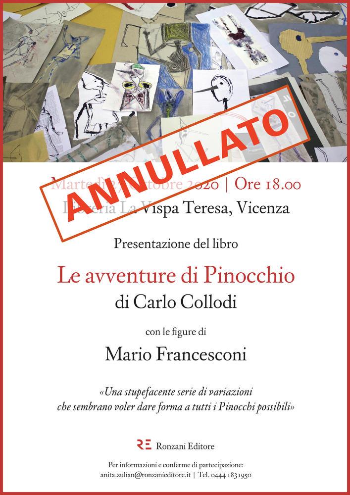 """Alla Libreria La Vispa Teresa presentazione di """"Pinocchio"""""""